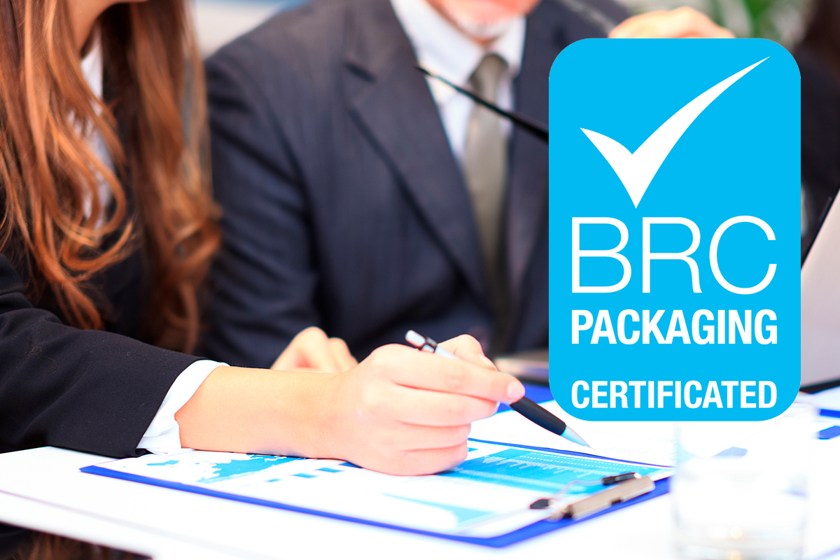 Crown Labels Maintains BRC Accreditation