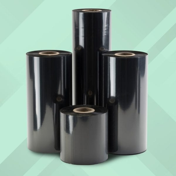 CRE10 Flat Head Wax is a thermal transfer ribbon