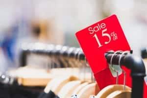 Retail Discount Label