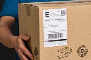 Tracking Box Label